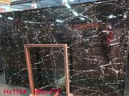 Negro Marquina Black Marble Slab And Tiles Bathroom Vanitytops For Residential Apartment