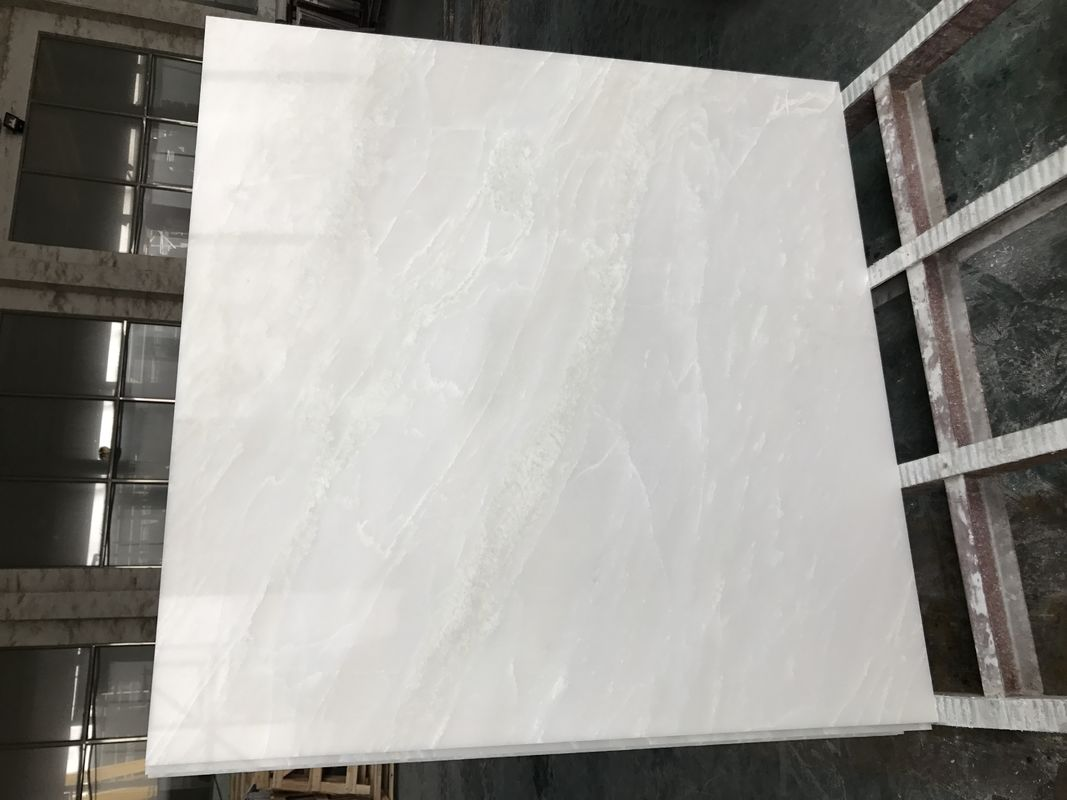 White cloud Natural marble tile for flooring
