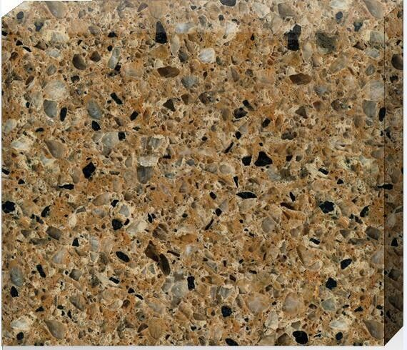 93% Quartz Stone Countertops / Flooring Tiles 15 - 30mm Thickness Optional
