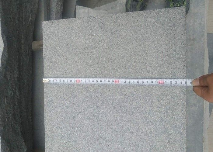 100% Natural Granite Stone Tiles Anti Corrosion 1mm Thickness Tolerance